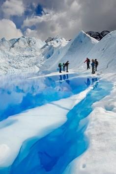 Big Ice Perito Moreno - Los Glaciares National Park, Patagonia, Argentina.