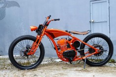 bikerMetric | custom honda yamaha metric bobbers, choppers, cafe racers: honda bobbers from yogyakarta's dariztdesign