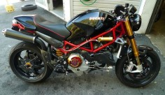 """Black Hole"" Ducati Monster S4R"