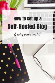 Blogging for beginners! Here is a step by step tutorial on how to set up a self-hosted blog and how to start making money blogging!