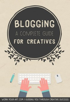 Blogging guide for creative business owners #blogging #art #craft #business #creative