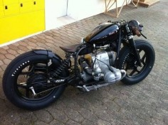 BMW #bobber #motorcycles #motos |