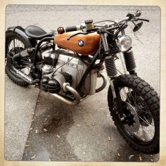 Bmw #bobber #motos #motorcycles |