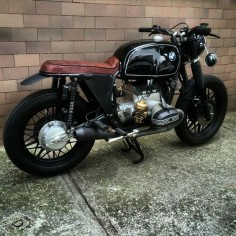 BMW boxer Custom by @soulmotorco