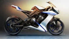 BMW Motorrad Supersport Concept by Frédéric Le Sciellour | Gear X Head