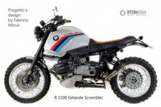 BMW R 1100 Gs ABS scrambler special Cafe racer