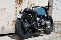 BMW R-series custom. #vintage