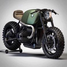 BMW R100 Cafe Racer #motorcycles #caferacer #motos |