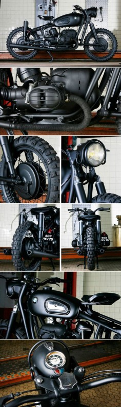 """BMW R100 """"The Great Escape"""" by Blitz Motorcycles -"""