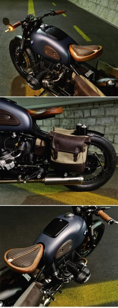 """BMW R69S Bobber """"Thompson"""" by ER motorcycles"""