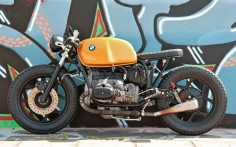 "BMW R80 Cafe Racer ""The Killer Bee"" ‪#‎IWC7‬ by Ironwood Custom Motorcycles #caferacer #motos 
