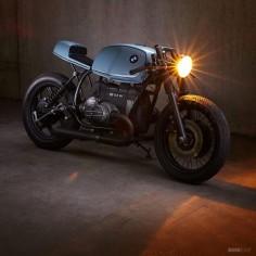 BMW R80 RT built by Tom Konecny of Munich-based Diamond Atelier.
