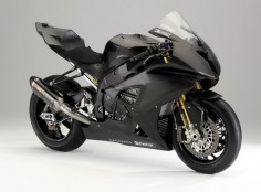 BMW S1000RR in stealth black. The reviews all tell me that this bike outperforms the Ducati's. It's not a bad bike at all. I had the opportunity to rent one and it was amazing.