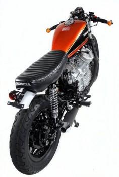 Bobber Cafe Racer CX500