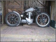 Bobber Inspiration | BSA bobber | Bobbers and Custom Motorcycles