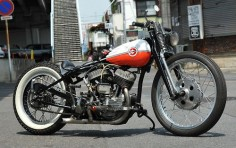 Bobber Inspiration | Flathead custom #bobber | Bobbers and Custom Motorcycles | twowheelcruise July 2014