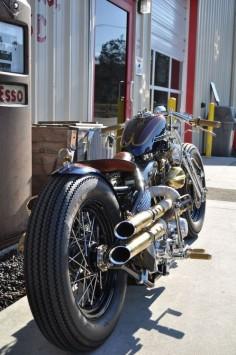 Bobber Inspiration | Harley Shovelhead bobber | Bobbers and Custom Motorcycles