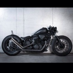 Bobber Inspiration | Honda 600 Shadow bobber by Made Men | Bobbers and Custom Motorcycles