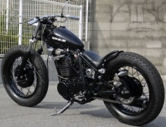 Bobber Inspiration | SR400 bobber | Bobbers and Custom Motorcycles