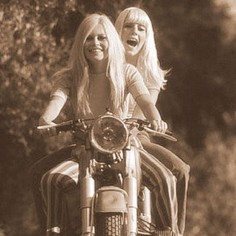 Bridgette Bardot. Riding
