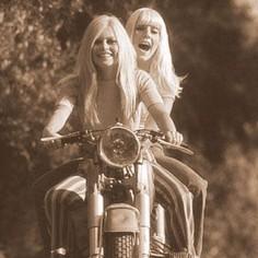 Bridgette Bardot. Riding