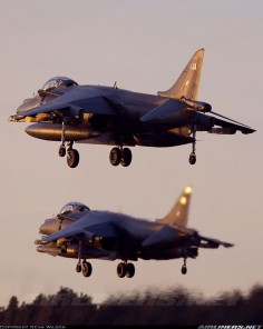 """ British Aerospace Harrier GR7A """