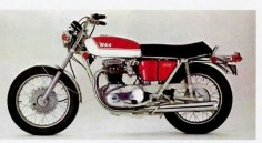 Bsa A65 Thunderbolt 650cc ohv twin 1972