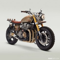 Built to survive: Yes, this is the actual motorcycle ridden by Daryl Dixon in the latest episode of The Walking Dead. Actor Norman Reedus already has a Classified Moto bike in his garage, so builder John Ryland got the shoulder-tap. And he discovered that building a bike for a TV show is a bit scarier than a normal commission. All is revealed at