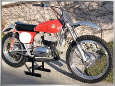 Bultaco Sherpa S Motocross Racer. Raced against these many times in the early '70s