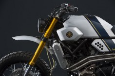 bunker custom delivers all-terrain practicality to yamaha's XSR700 series