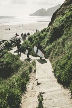 Burton's Pacific Northwest Trifecta 2015 | Step three: surf. The Oregon coast is incredible.