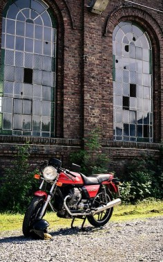 C2R #1 - Moto Guzzi V50 Monza by Sven W., via Flickr