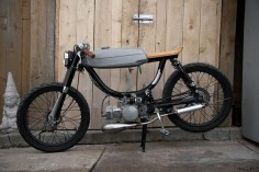 cafe moped. It looks great!