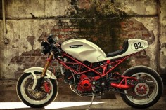 Cafe Racer. Ducati monster