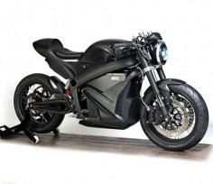 Cafe Racer electric by Zero Motorcycles #motorcycles #caferacer #motos |