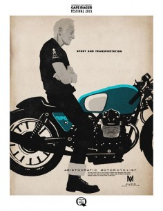 Cafe Racer Festival 2013, by Lorenzo Eroticolor.