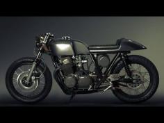 Cafe Racer (Honda Cb 750 Four Review Test) - YouTube