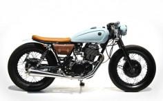 Cafe Racer Pasión — Yamaha SR400 Cafe Racer by The Sports Customs |...