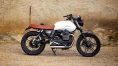 Cafe Racer Special: Moto Guzzi V7 Tracker BAAK