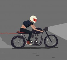 #caferacer animated gif discover motomood