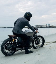 #caferacer #motorcycleculture #culturamotera |