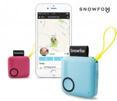 Call and locate your kids in real-time with the Snowfox trackerphone -
