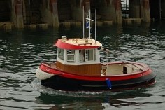 Candu E-Z, Mini Tugboat Plans, Tugboats
