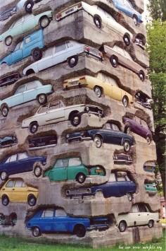Car Cemetary, France