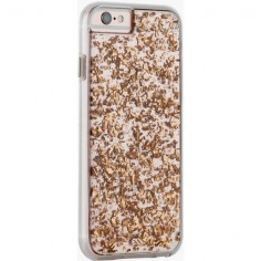Case Mate Rose Gold Leaf iPhone 6 Plus Case ($46) ❤ liked on Polyvore featuring accessories, tech accessories and case-mate