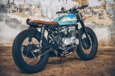 CB 500 Four Bratstyle Rat | Garagem Cafe Racer