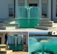 """Charybdis"" Vortex Fountain By William Pye - Seaham Hall, Sunderland"