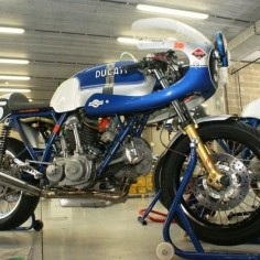 Classic Ducati racer