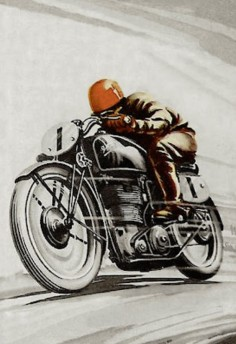 Classic racing #poster #vintage #motorcycles |