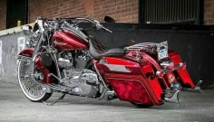 Clean Harley Davidson Road King